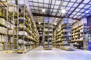Warehouse energy efficiency: lighting has a major part to play
