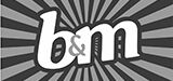 B and M Logo