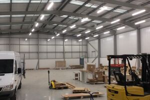 Warehouse LED lighting: boosting night-time productivity
